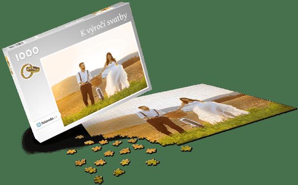 Krabička na puzzle - Svatba