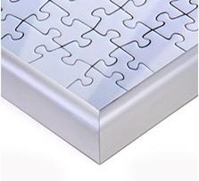 Puzzle-rámeček pro fotopuzzle, Detail rohu