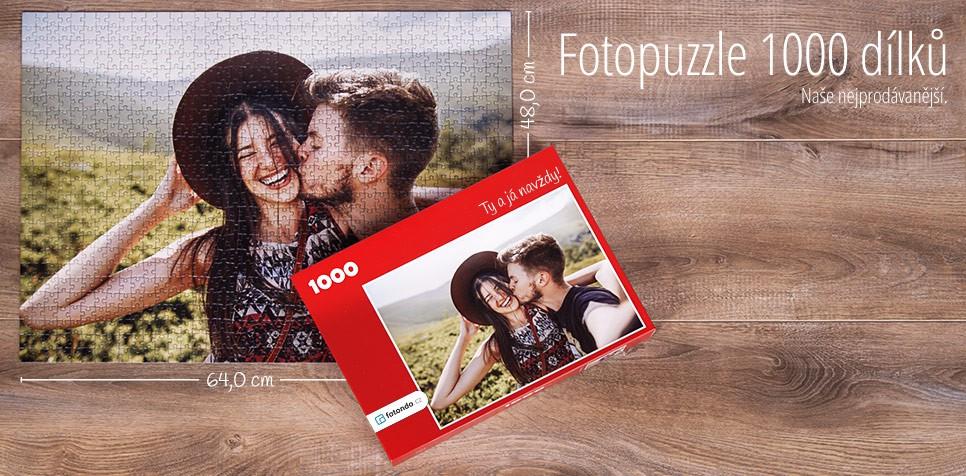 1000 dílkové puzzle z fotografie