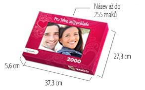 Velikost krabičky pro puzzle - puzzle z fotky 2000 dílků