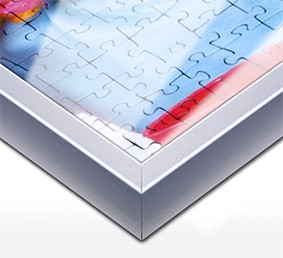 Puzzle-rámeček pro puzzle z fotky