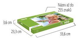 Velikost krabičky pro puzzle - puzzle z fotky 100 dílků