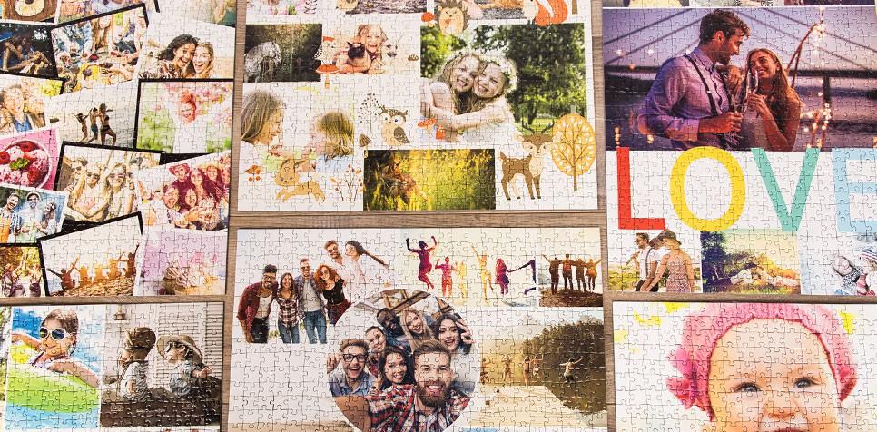 Vytvořit koláž na puzzle z fotky