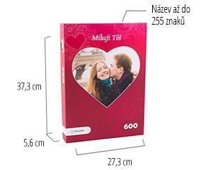 Velikost krabičky pro puzzle - puzzle z fotky 600 dílků