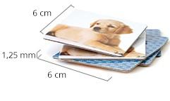 Velikost kartičky pexesa
