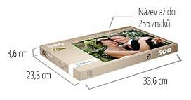 Velikost krabičky pro puzzle - puzzle z fotky 500 dílků
