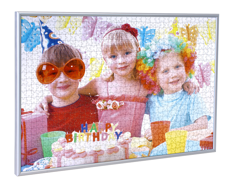Puzzle-rámeček