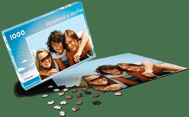 Krabička na puzzle - Léto