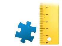 Poměr dílku puzzle Fotopuzzle 200 dílků