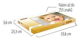 Velikost krabičky pro puzzle - puzzle z fotky 200 dílků