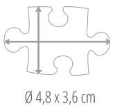 Velikost dílku puzzle - puzzle z fotky 100 dílků