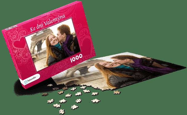 Krabička na puzzle - Láska II